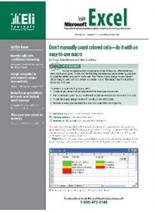 Inside Microsoft Excel Magazine Subscription