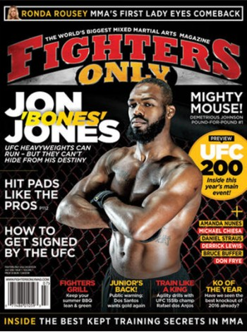 Fighters Only Magazine Subscription