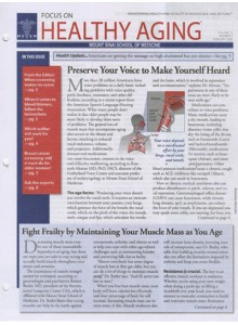 Focus On Healthy Aging Magazine