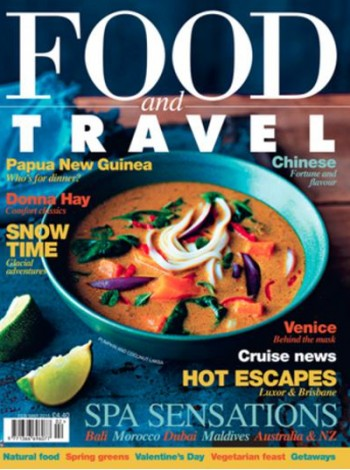 Food And Travel UK Magazine Subscription