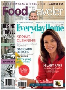 Food Traveler & Everyday Home   Bundle Magazine Subscription