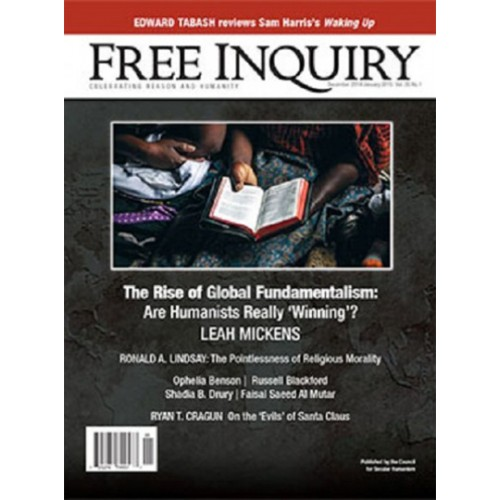 Celebrity Humanist Wedding: Free Inquiry Magazine Subscription Discount 30%