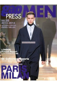 Gap Press Men Paris/Milan Magazine