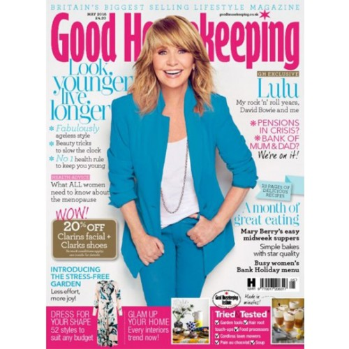 Good Housekeeping: Good Housekeeping UK Magazine Subscription Discount 15