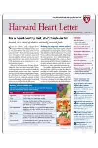 Harvard Heart Letter Magazine