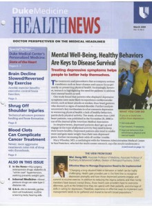 HealthNews Magazine Subscription