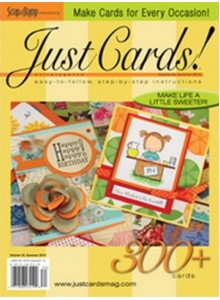Just Cards! Magazine Subscription