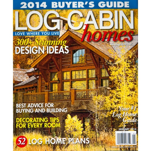 Log Cabin Homes Magazine Subscription; Log Cabin Homes Magazine Subscription