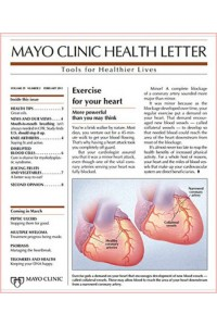 Mayo Clinic Health Letter Magazine