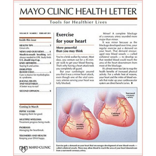 Mayo Clinic Health Letter Newsletter Subscription