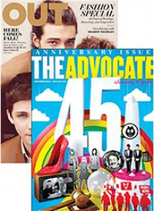 Out And Advocate Bundle Magazine Subscription