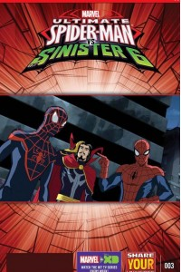 Marvel Universe Ultimate Spider-Man: Sinister Six Magazine