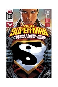 New Super-Man And The Justice League Of China Magazine