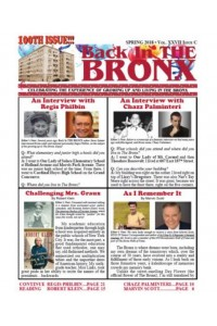 Back In THE BRONX Magazine