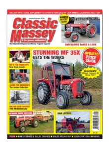 Classic Massey & Ferguson Enthusiast (UK) Magazine