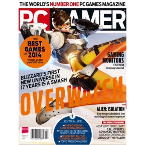 PC Gamer (No CD) Magazine Subscription Discount 75% | Magsstore