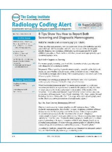 Radiology Coding Alert Magazine Subscription