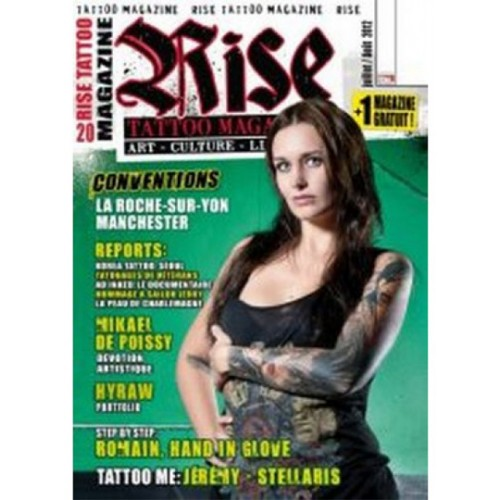 Rise Tattoo Magazine Subscription Discount 15% | Magsstore