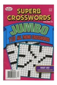 Superb Crosswords Jumbo Magazine
