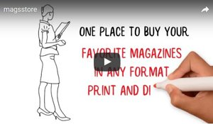 One place to buy you favorite magazines